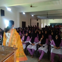 Adolescent PCO health eductaion class organised by IFS Kerala Chapter