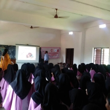 Adolescent PCOS health education class organised by IFS Kerala Chapter